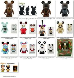 Large Lot Of Rare Disney Vinylmation Figures.all New In Original Boxes