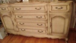 Vintage Late 50's French Provincial Dinning Room Furniture