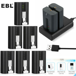 Ring Rechargeable Battery / Charger For Video Doorbell 2 Spotlight Camera Lot