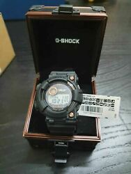 Casio G-shock Gwf-1000b-1j Limited Edition Frogman Black And Rose Gold Watch