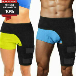 Hip Brace Compression Groin Support Wrap For Stabilizer Sciatica Pain Relief Us