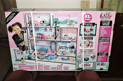 Lol Surprise Wooden Doll House With Exclusive Family 85 Surprises New Sealed