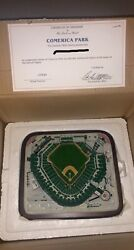 Danbury Mint Comerica Park Detroit Tigers Mlb New In Box/never Displayed