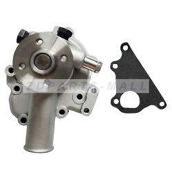 Water Pump W/ Gasket For Ford, New Holland Compact Tractor Tc25 Tc30 Tc33 Tc34da