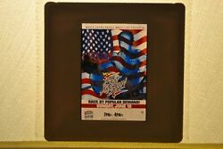 Wcw Rare The Great American Bash Advertisment Pahon Negative Slide For Tv Wwe