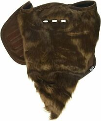Neff Mens Bearded Brown Facemask Ski Snowboard Face Cover Mask New