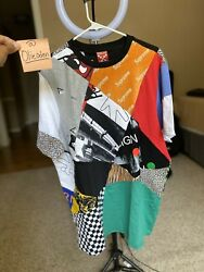 Mschf X Impossible Patchwork Collab T-shirt Rare In-hand M/l 1/1000 Confirm