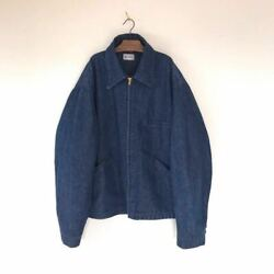 Big Smith Work Jacket Denim Jacket Coverall Special Vintage 40's 50's Rare Used