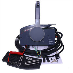Push Throttle Remote Control Box 703 For Yamaha Outboard Side Mount 10 Pin Cable