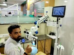 Brand New 45 Degree Inclined Dental Surgical Operating Microscope With Accessori