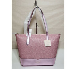 🌹NWT Kate spade lola glitter tote laptop shoulder bag satchel purse handbag $88.00