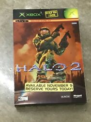 Halo 2 Master Chief Xbox Standee Game Store Counter Display Poster Box Type