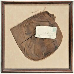 Extremely Rare Confederate Haversack From Named 58th Regt Virginia Volunteer