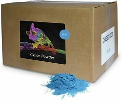 Holi Color Powder Bulk by Chameleon Colors Blue 25 lbs FREE SHIPPING