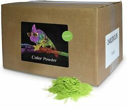 Holi Color Powder Bulk by Chameleon Colors Green 25 lbs FREE SHIPPING