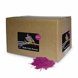 Holi Color Powder Bulk by Chameleon Colors Magenta 25 lbs FREE SHIPPING