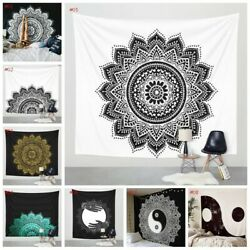 Indian Mandala Art Designed Tapestry Wall Hanging Queen Home Decors Bed Yoga Mat