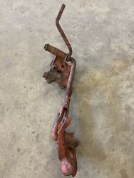 Farmall Ih Cub Tractor Cultivator Front Right Mounting Bracket Bar And Pivot