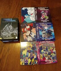 Transformers The Complete Takara Collection Dvd 13-disc Set Rare