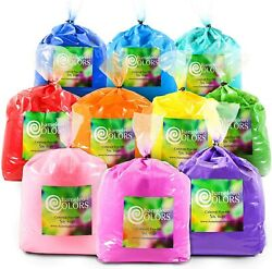 Holi Color Powder 10 5 pound packages by Chameleon Colors ***FREE SHIPPING***