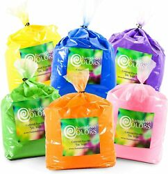 Holi Color Powder 6 5 pound packages by Chameleon Colors ***FREE SHIPPING***