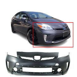 Primed Front Bumper Cover Fascia For 2012-2015 Toyota Prius 5211947934 To1000394