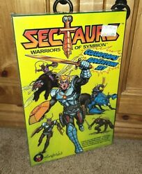 Rare And Insect-a-riffic Original 1985 Sectaurs Colorforms Set Mint In Sealed Box