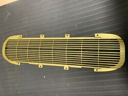 62 Corvette Front Grill -gold New Sale 525 Grille Anodized As Gm Origina