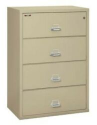 Fireking 4-3822-cpa 4 Drawer 38 Lateral File Cabinet 43822cpa Free Shipping👀