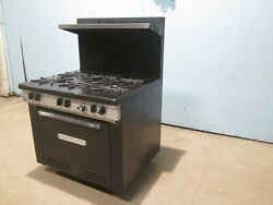 Southbend Commercial Heavy Duty Nsf Natural Gas 6 Burners Stove W/oven