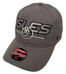 Zephyr Nhl New York Islanders Blades Curved Bill Adjustable Hat New With Tags