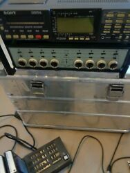 Sony Pc208a Dat Recorder Bruel And Kjaer 5966 Acoustic Front End 8 Channel Data