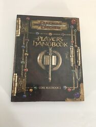 Hardcover Dungeons And Dragons Players Handbook / Core Rulebook I Tsr11550