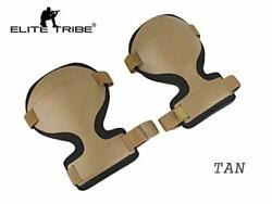 Paintball Equipment Tactical Emerson Combat ARC Style Knee Pads Dark Earth