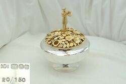 Rare Qe Ii Hm Sterling Silver And Gilt The Ripon Centrepiece 1986 Hector Miller