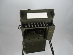 Wwii Us Army Signal Corp Bd-71/bd-72 Switchboard Vintage