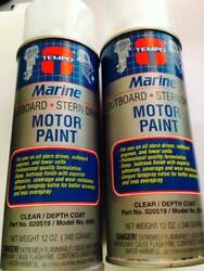 Tempo Inboard And Outboard Gloss Clear Coat - 6995 2 Cans