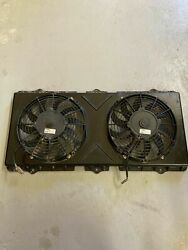 2013 Arctic Cat Wildcat 1000 V-twin Rear Cooling Fans And Shroud Bq1