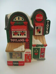 Coca-cola Town Square Collection Toy Land Toy Store Christmas Holiday Village