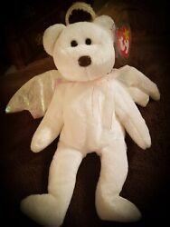 Rare 1998 Ty Halo Beanie Baby With Brown Nose