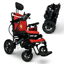 2021 Foldable Lightweight Special Limited Travel Electric Power Wheelchair,