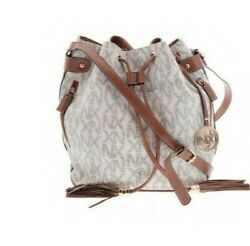 2 LARGE bags Noble Exchange large classic bucket bag amp; JUST FAB bucket bag $47.00
