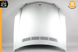 06-11 Mercedes W219 Cls500 Cls550 Cls63 Amg Hood Cover Panel Assembly Silver Oem
