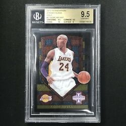 2013-14 Innovation Kobe Bryant Stained Glass Gold Bgs 9.5 11