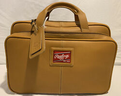RAWLINGS HEART OF THE HIDE LEATHER MESSENGER LAPTOP BRIEFCASE BAG NWT NEW $650 $495.00