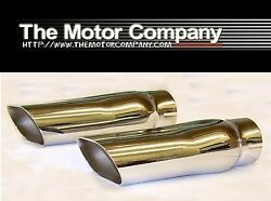 1969 1970 1971 1972 Chevelle Ss396 Ss454 2 1/2 Inch Exhaust Tips H-1915 In Stk