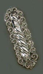 Beautiful New Sterling Silver Mezuzah With A Free Non-kosher Scroll