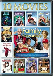 Family Favorites 10 Movie Collection DVD NEW