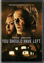 You Should Have Left Dvd Avery Essex New