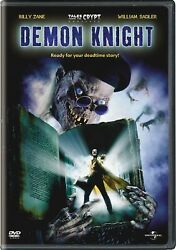 Tales From The Crypt Demon Knight Dvd Billy Zane New